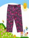 Legging Anak Branded Faded Glory 7/8 Flower HotPink